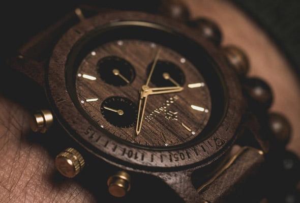 houten horloges