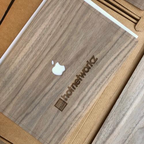 Macbook Cover met gravering