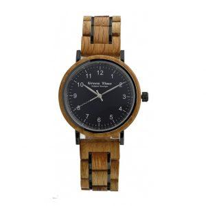 houten horloge barrique