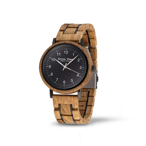 houten horloge houseofbamboo