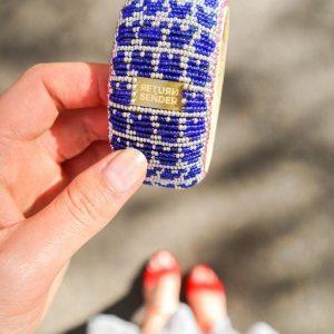 armband met gekleurde kraaltjes