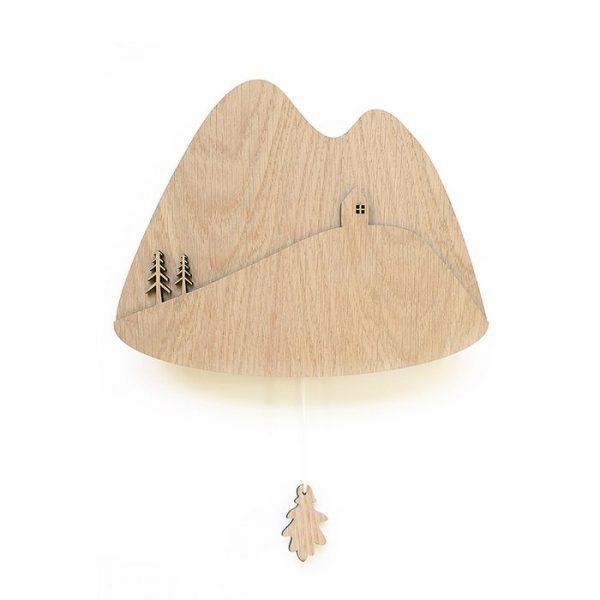 muziekdoos van hout