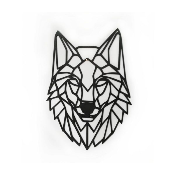 lasergesneden wolf